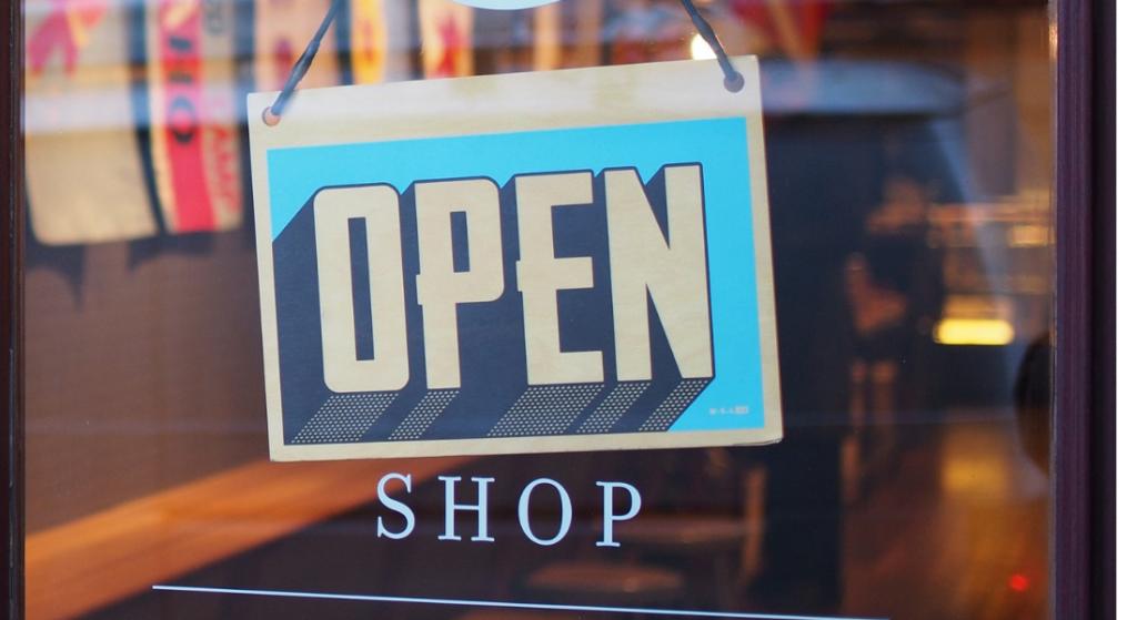 Open Shop on Facebook