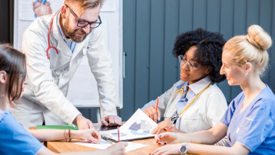 medical team marketing strategy